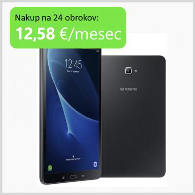 Tablični računalnik 10.1 Samsung Galaxy Tab A 16GB Wi-Fi ČRN